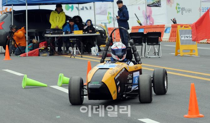 대학생 E-포뮬러 경주대회