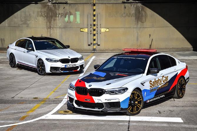 BMW, 2018용 M5 모토GP 세이프티카