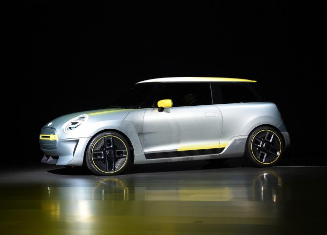BMW MINI의 차세대 전기차 '일렉트릭 콘셉트'