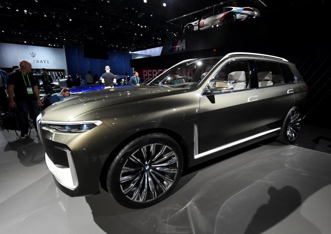 BMW, SUV 모델 'X7  콘셉트'