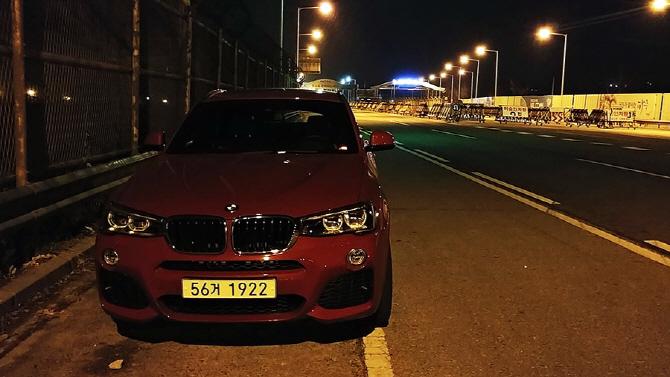 [자유로 연비] BMW X4xDrive20d, 자유로를 달리다