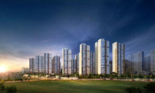 GS건설·두산건설, '광명 에코 자이위브' 모델하우스 15일 개관