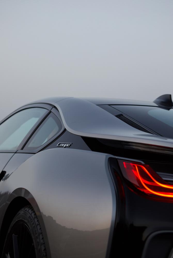 BMW 'i8 쿠페', 리어램프에 불이 '번쩍'