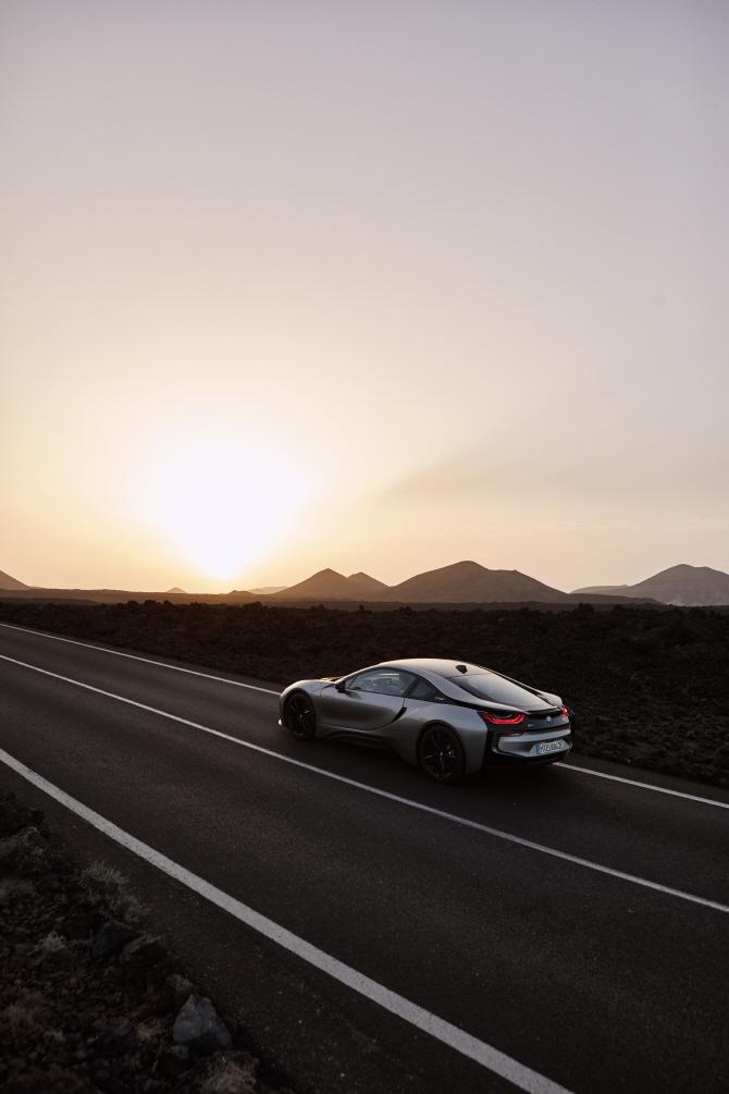 BMW 'i8 쿠페', 날렵한 디자인