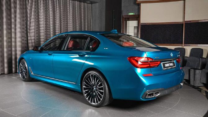 BMW 아부다비 모터스가 선보이는 특별한 존재, BMW M760Li
