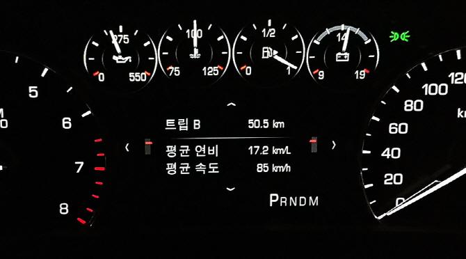 [자유로 연비] 캐딜락 CT6 터보, 자유로를 달리다