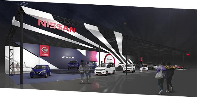 닛산, 도쿄 오토살롱에서 GT-R 레이스카를 비롯 15대의 차량을 전시