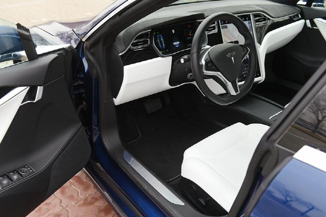 [자유로 연비] 테슬라의 고성능 전기차, 모델 S 90D의 자유로 연비는?