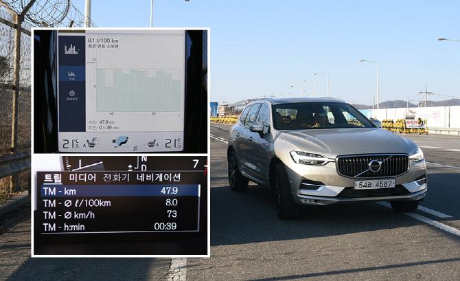 [연비 시승기] 다양한 주행 환경에서 확인한 볼보 XC60 T6 AWD의 연비