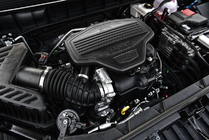 [연비 시승기] V6 엔진을 탑재한 캐딜락 XT5의 연비는?