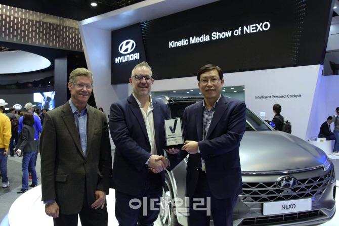 [CES 2018]차세대車 넥쏘·니로EV, 에디터들의 선택상 수상