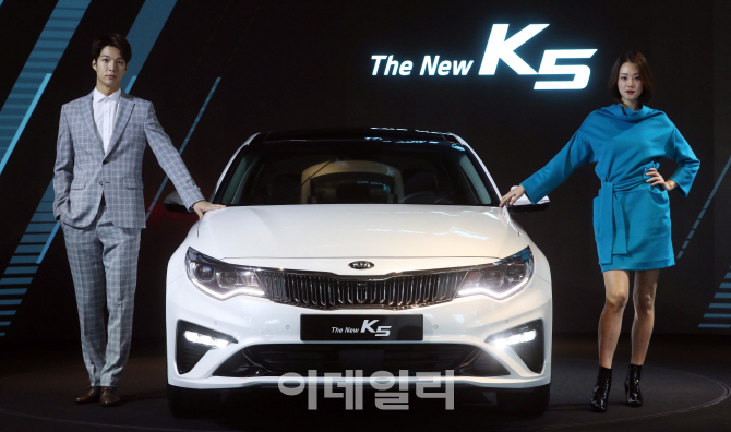 기아차, 부분변경 '더 뉴(The New) K5' 출시