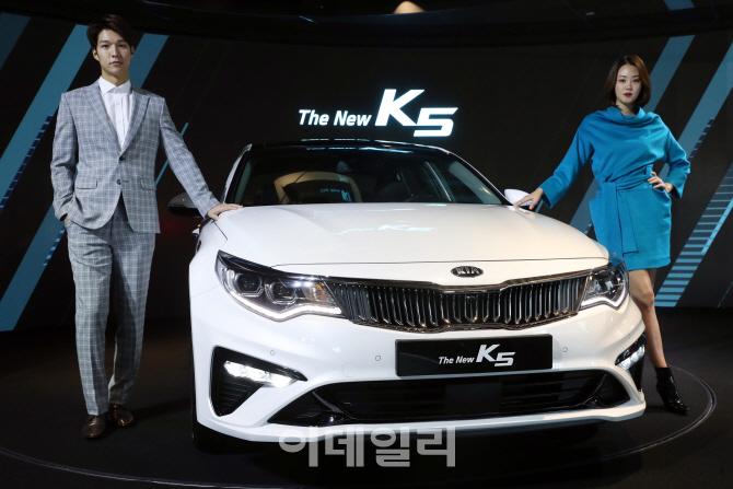 기아, 부분변경 '더 뉴(The New) K5' 판매