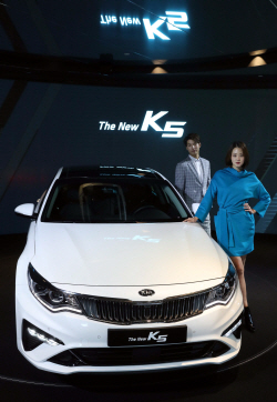 기아차 `더 뉴(The New) K5` 출시