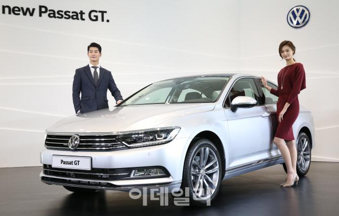 공개된 폭스바겐 신형 '파사트 GT(The new Passat GT)'