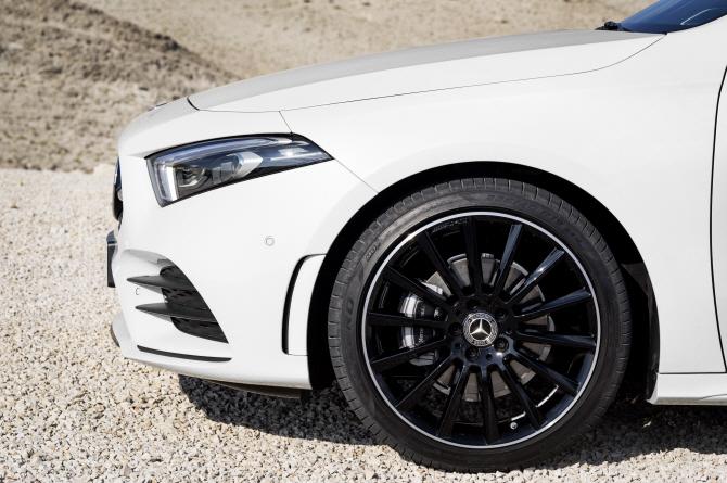벤츠 'A클래스', 타이어 휠