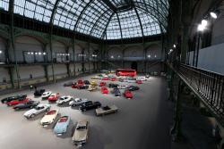 파리 빈티지 자동차 전시회