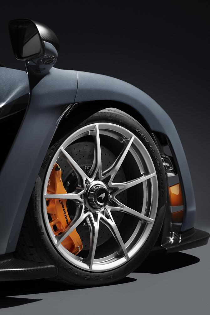 맥라렌 '세나', 타이어 휠