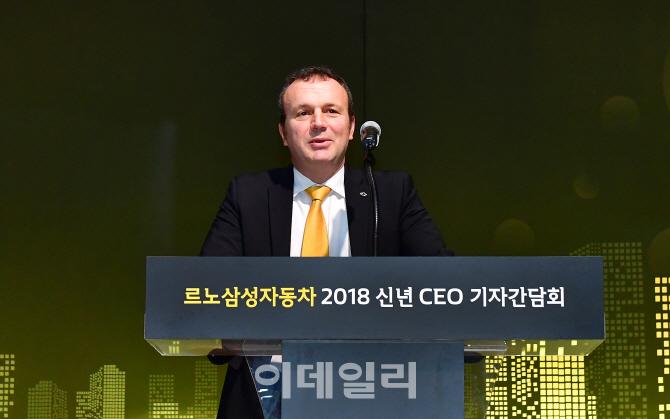 르노삼성 사장 `올해 27만대 목표..클리오·전기 상용차 출시`(종합)