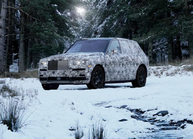 롤스로이스 최초 SUV 이름 `컬리넌` 최종 확정