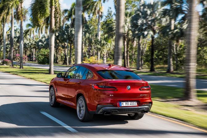 BMW, 2세대 X4 공개..10월 국내 출시