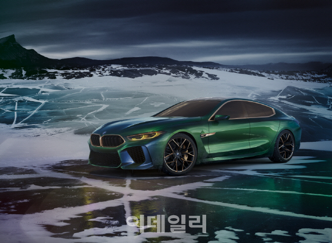 BMW, 콘셉트 M8 그란 쿠페 세계 최초 공개