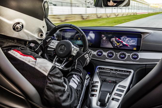 벤츠 'AMG GT 4도어 쿠페', 고성능 모델