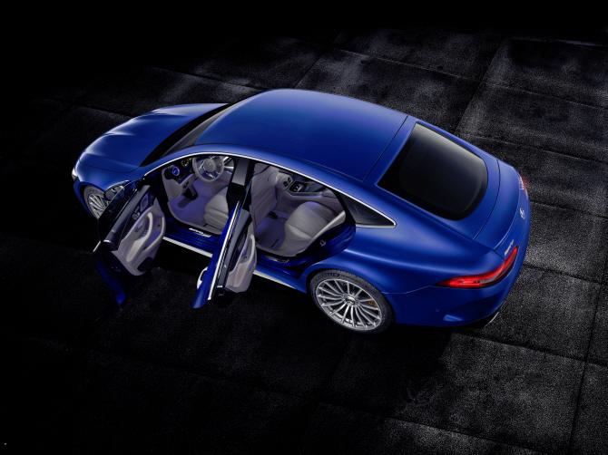 벤츠 'AMG GT 4도어 쿠페', 국내 출시는 언제?