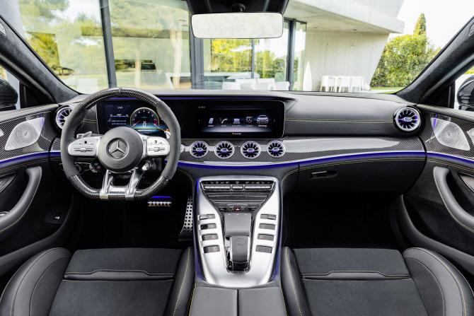 벤츠 'AMG GT 4도어 쿠페', 럭셔리한 실내