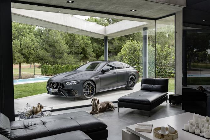 벤츠 'AMG GT 4도어 쿠페', 고성능 스포츠카