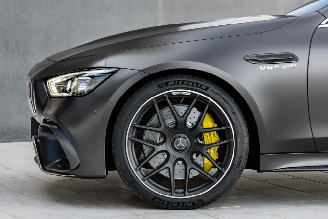 벤츠 'AMG GT 4도어 쿠페', 타이어 휠