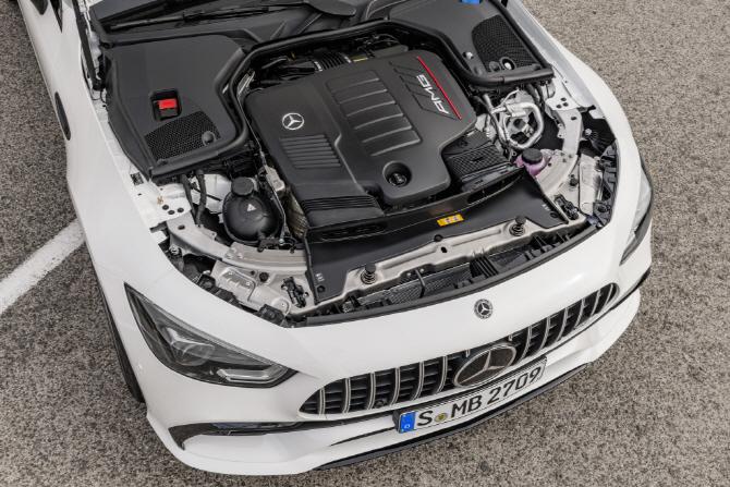 벤츠 'AMG GT 4도어 쿠페'의 심장