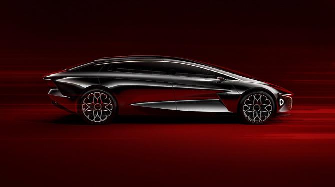 라곤다, 럭셔리한 전기차 `비전 콘셉트`…`자율주행 레벨4`