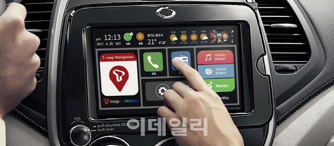 르노삼성, QM3에 SKT 음성인식 플랫폼 `NUGU` 탑재