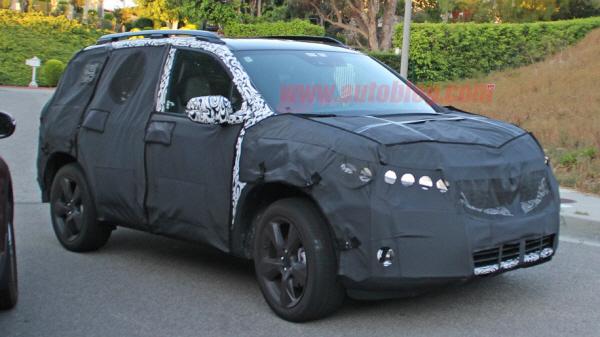 혼다 중형 SUV 스파이샷 포착..중형 패스포트 부활