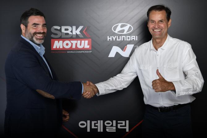 현대차 고성능 N, 슈퍼바이크 월드 챔피언십 `세이프티 카` 공급