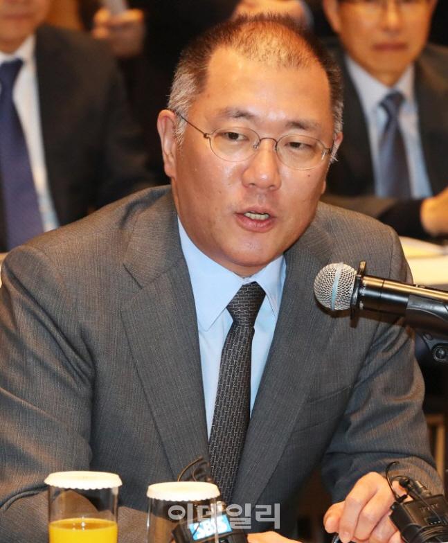 정의선, 현대차그룹 총괄 수석 부회장 승진…그룹 업무 총괄(상보)