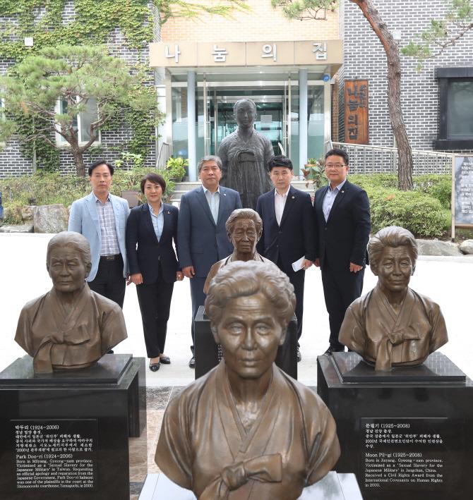 【韓国】「ナヌムの家を人権と平和教育の場にしたい」=京畿道議会議長[09/20] ->画像>18枚
