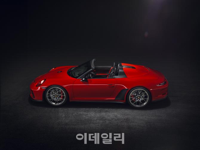 [2018 파리모터쇼]포르쉐, 70주년 한정판 '911 스피드스터' 생산한다