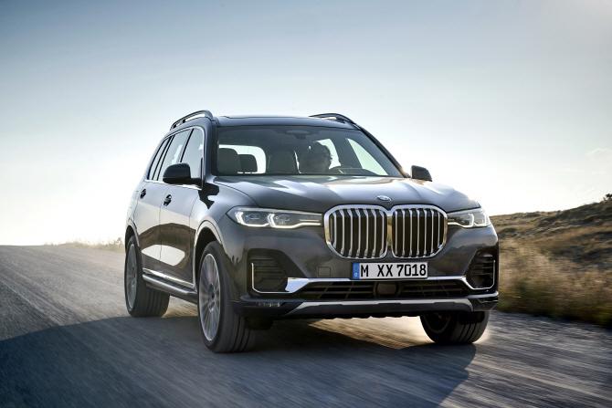 BMW, 2019년형 `X7`