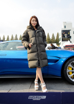 슈퍼레이스 챔피언십 레이싱모델 소이