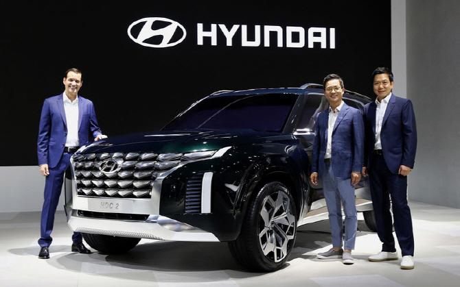 현대차, 대형 SUV `팰리세이드` 상세 제원 공개..`올 연말 출시`