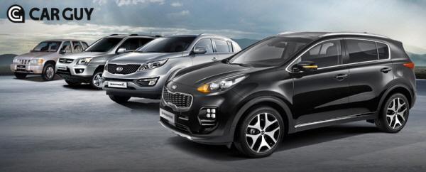 세계 `도심형 SUV` 시초는 한국..기아차 스포티지의 전설