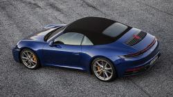 포르쉐 '911 4S 카브리올레', 최고속도 304km/h