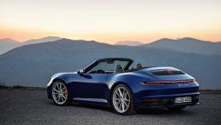 포르쉐 '911 4S 카브리올레', 견고한 디자인