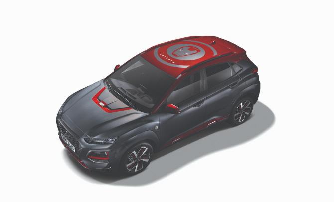 현대차 '코나 아이언맨 에디션'출시..23일부터 판매
