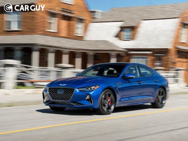 모터트렌드 `올해의 차` 제네시스 G70..지난달 미국 판매 갸우뚱?