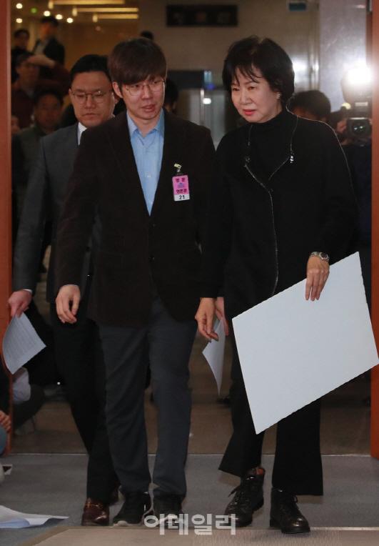 """전명규에 날 세운 손혜원...""""낄끼빠빠의 잘못된 예시"""""""