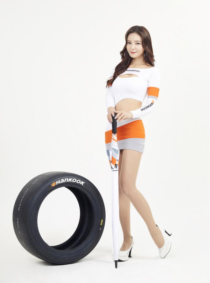 [포토]한국타이어 2019년 전속 레이싱 모델 제바