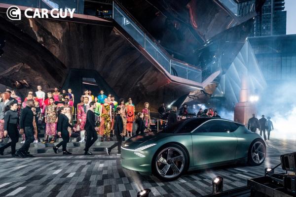 제네시스, 뉴욕모터쇼에서 씨티카 컨셉의 전기차 '민트 콘셉트'공개